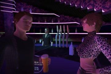 Virtuális szex - randevú egy bárban