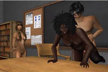Hentai anális szex játék