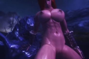 Virtuális szex - baszás a kék fával