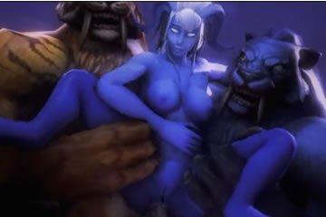 Virtuális szex - dugás a szörnyekkel